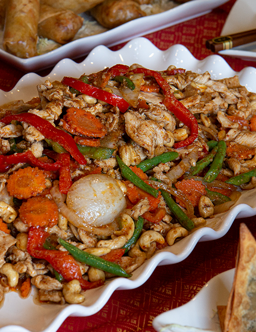 Cashew Chicken Thai Food Spokane